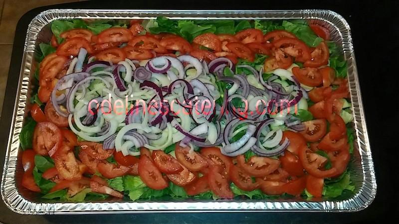 Everything Garden Salad